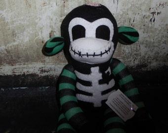 Zombie Sock Monkey 031