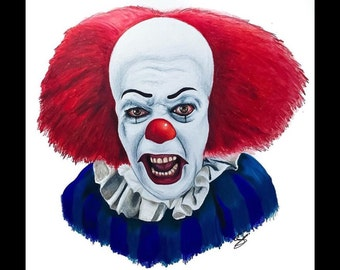 """Pennywise """"IT"""" - 8x10 print"""