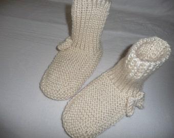 36/39 wool slippers
