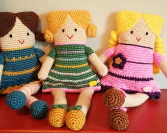Handmade crochet dolls - Handmade Crochet dolls