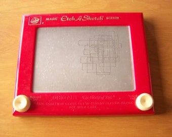 Vintage Classic Red Etch a Sketch