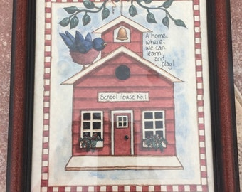 Schoolhouse picture