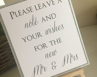 Guestbook sign / Wedding Guestbook Sign / Wedding Signs / Glitter Guestbook Signs