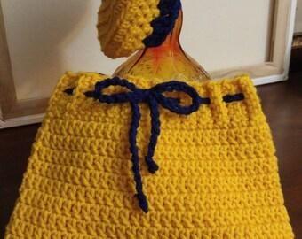 LITTLE GIRLS' OUTFITS crocheted hat/headband and skirt/leggings!