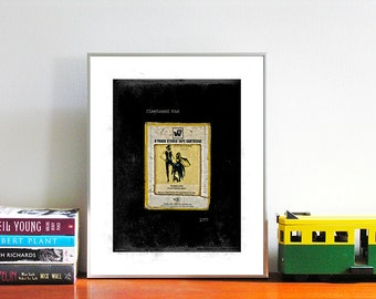 Fleetwood Mac - Rumours | Classic Rock | Music Poster Art