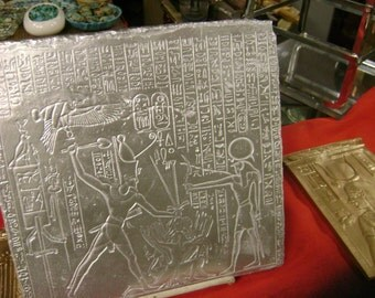 Unique Egyptian Wall Relief/Plaque Hand Made In Egypt
