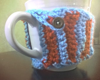 Handmade Crochet Coffee Cozy