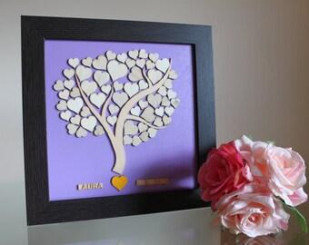Footprint tree / Árbol de huellas