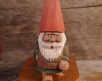 Working Gnome Carving 1