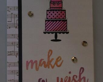 Birthday card - Make a wish