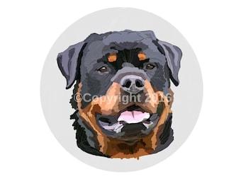 Rottweiler illustration (Download)