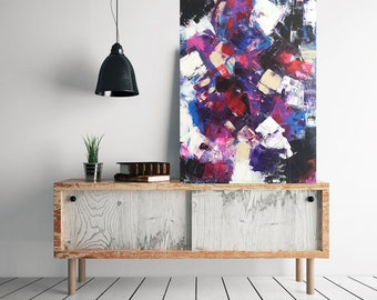 Contemporary Painting in Modern Art New Surreal Studio Neoexpressionism Abstract Painting