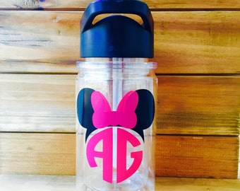 Kids Personalized Water Bottle||Minnie Tumbler|Mickey Tumbler|Kids Water Bottle|Kids Tumblers|Gifts for Kids|Monogram Kids Water Bottle|