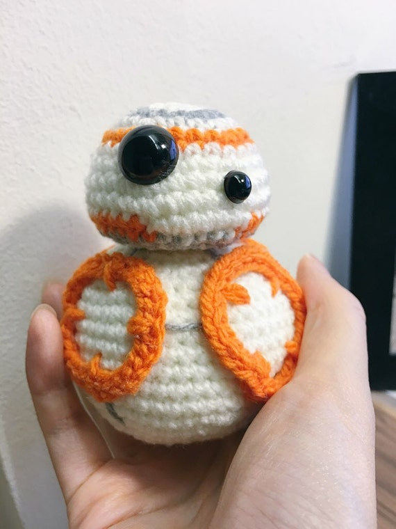 Amigurumi Snowman Pattern : Crochet Star Wars BB-8 Amigurumi PATTERN The Force by ...