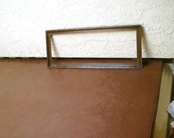 "Antique Wood Picture Frame 30 1/2 "" x 12"" x 1 """