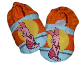 Slippers baby piglet