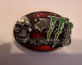 Monster Skull belt Buckle