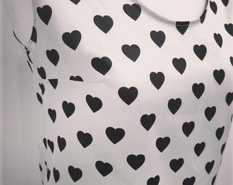 Valentine Hearts top