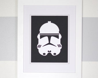 Phase 2 Clone Trooper Helmet (Framed)