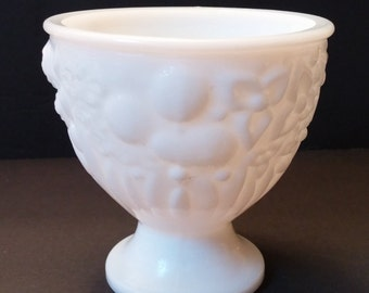 Avon Candy Dish in Milk Glass