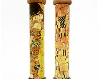 Kaleidoscope - Klimt: The Kiss, Art Handmade Collectible Toy