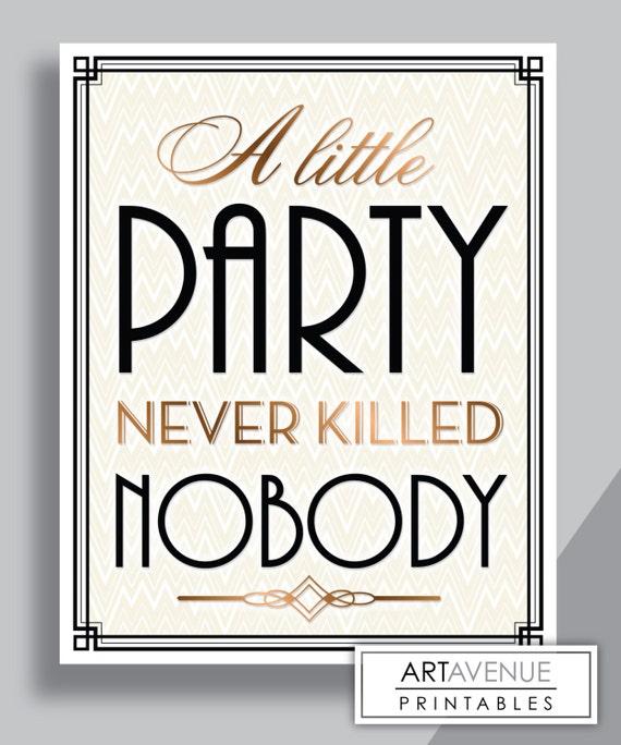 printable art gatsby wedding art deco sign a little. Black Bedroom Furniture Sets. Home Design Ideas