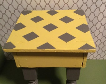 Foot Stool Reclaimed