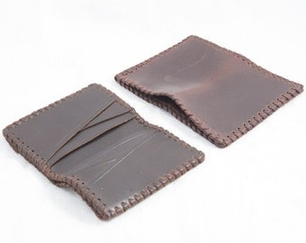 77. leather - small card holder wallet