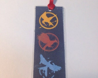 Hunger games book mark-hunger games party favors