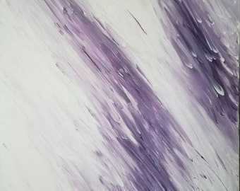 Original Abstract Painting Stretched Canvas 24x18