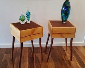 Rosewood Occasional Side Tables
