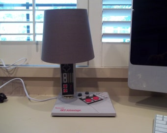Custom NES Advantage controller lamp
