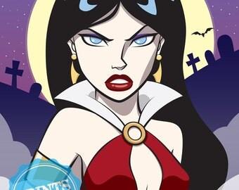 "Vampirella Limited Edition - Art Print (8 X 10"")"