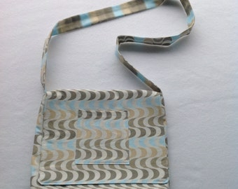 Kid's messenger/tote bag+unique+made in Washington+handmade gift
