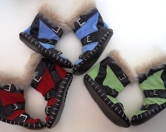 Plush slippers for home of game Dota Power Treads boots