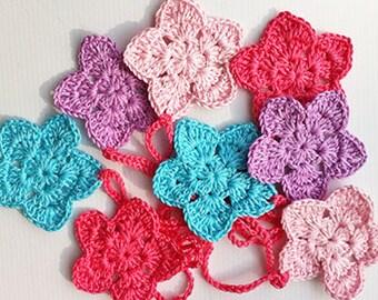Handmade Crochet Bunting Garland