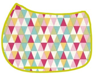 Geometric Triangles Saddle Pad