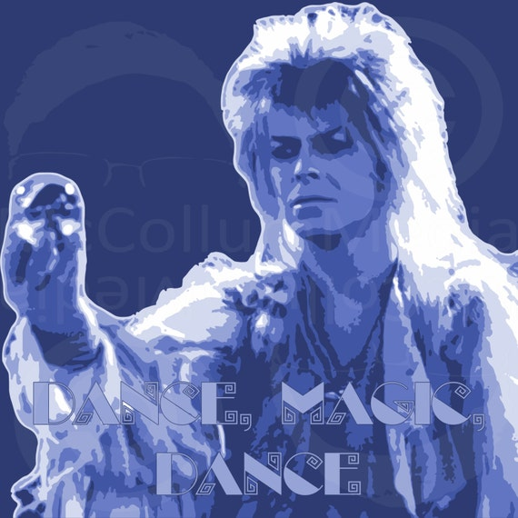 Dance Magic Dance David Bowie Labyrinth Digital Print