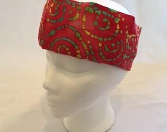 FreezeIt! Migraine Headwraps Raspberry Red