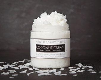 Coconut Cream Sea Salt Scrub