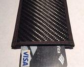 RFID Blocking Carbon Fiber Credit Card Case Featuring Cryptalloy