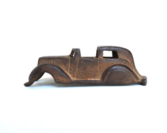 Vintage 1930s Hubley Cast Iron Studebaker Town Car Paper Weight