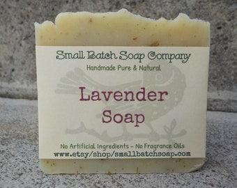 Lavender Soap, Lavender Body Soap, All Natural Soap, Vegan Soap, Handmade Soap, Lavender, Body Soap, Cold Process Soap, Palm Free Soap