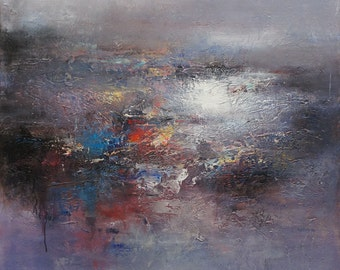 """Abstract 48""""x48"""" (1115)"""