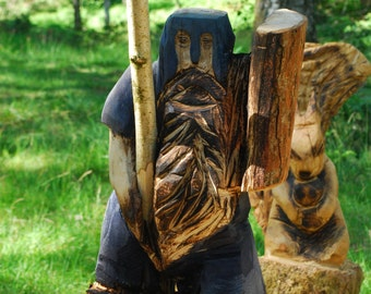 Chainsaw Carved Dwarfs 2ft Tall