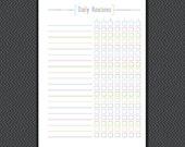 Daily Routines - Daily Planner - Routines - Daily Organizer - A4 A5  LETTER