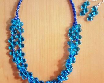 Turquoise Raindrop Necklace