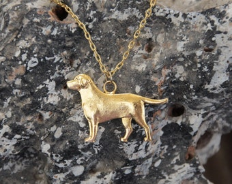 Labrador Necklace, Labrador Dog, Golden Labrador Necklace, Labrdor, Dogs Necklaces, Dogs Gift, labrador retriever