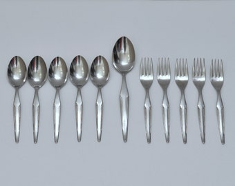 Everbrite Deluxe Stainless Solingen Germany Flatware, Set of 11