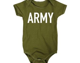 Army One-Piece T-Shirt Onesie